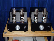 Audion Silver Night PSE 300B at Audioworld 12